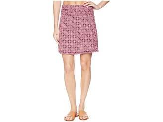 White Sierra Tangier Odor Free Printed Skirt Women's Skirt