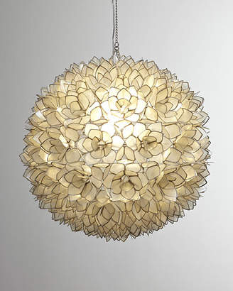 Neiman Marcus Capiz-Shell 1-Light Pendant