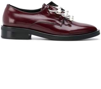 Anello (アネロ) - Coliac Anello embellished derby shoes