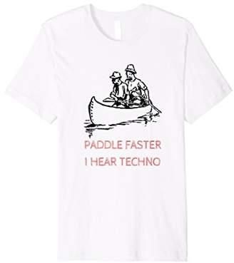 Paddle Faster Techno Shirt