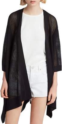 AllSaints Bishi Open-Knit Kimono Cardigan