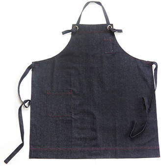 "Far Holland Indigo Denim Apron ""Pine"""