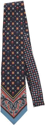 Alexander McQueen Paisley-Print Silk-Faille Tie