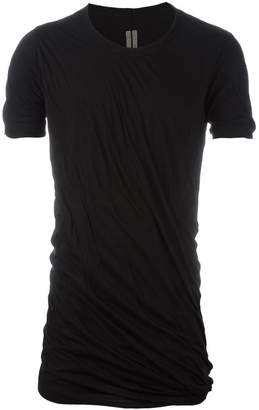 Rick Owens ruched T-shirt