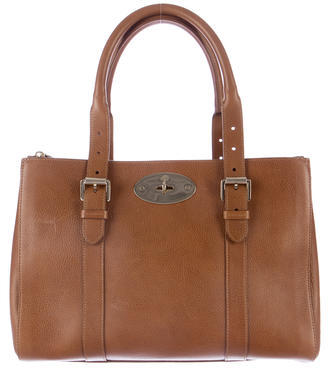 Mulberry Bayswater Double Zip Tote $995 thestylecure.com