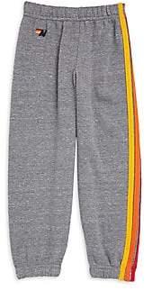 Aviator Nation Little Boy's & Boy's Five-Stripe Bolt Sweatpants