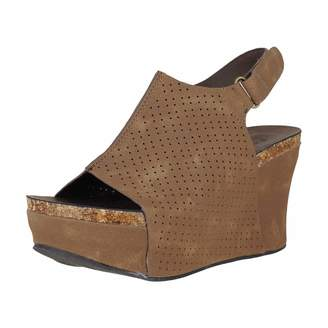 7e8e5969bce Pierre Dumas HESTER-16 Women s Platform Wedge Sandals (6.5