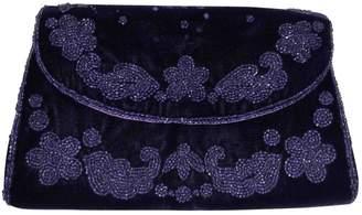 Gucci Purple Velvet Clutch bags