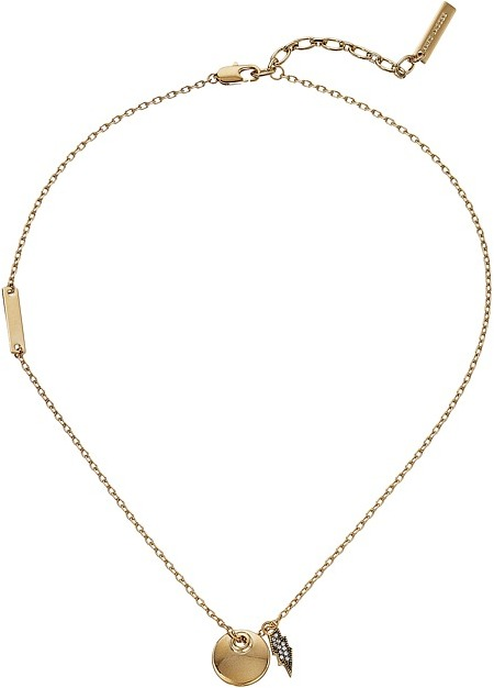 Marc JacobsMarc Jacobs - MJ Coin Lightning Pendant Necklace Necklace