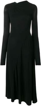 Victoria Beckham ruched jersey dress