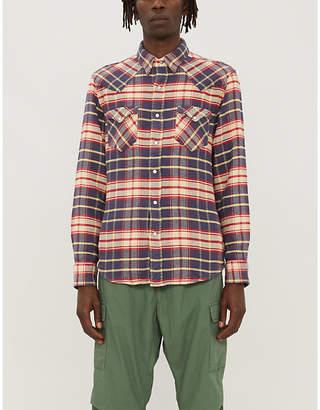 Ralph Lauren RRL Buffalo western regular-fit check cotton shirt