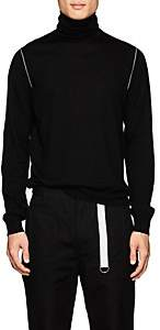 Helmut Lang Men's Wool Turtleneck Sweater - Black