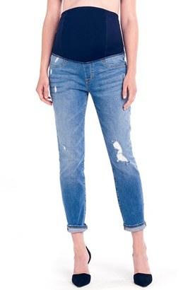 Women's Ingrid & Isabel 'Mia' Maternity Boyfriend Jeans $118 thestylecure.com