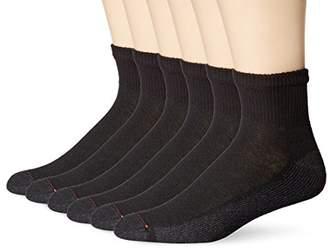 Hanes Men's Big-Tall ComfortBlend Ankle Socks (Pack of 6)