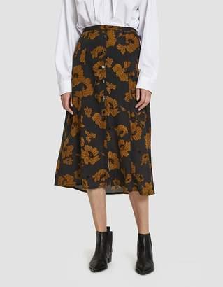 Stelen Alannah Floral Midi Skirt