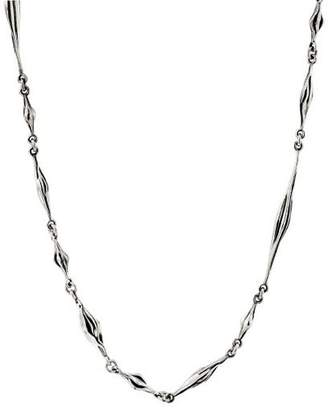"""Hagit Sterling Silver 34"""" Polished Necklace"""