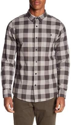 Tavik Cohen Plaid Long Sleeve Regular Fit Shirt