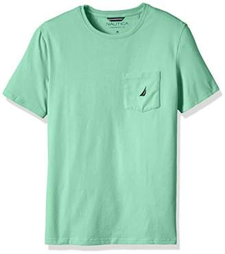 Nautica Men's Solid Pocket T-Shirt