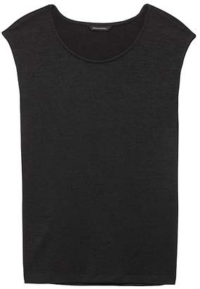 Banana Republic Luxespun Side-Slit T-Shirt