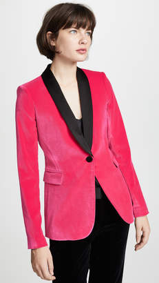 Alice + Olivia Macey Fitted Blazer