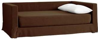 Pottery Barn Teen Jamie Daybed Frame + Daybed Slipcover + Mattress Slipcover, Full, Trailblazer Faux-Suede, IDS
