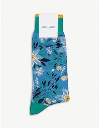 Duchamp Mollie cotton-blend socks