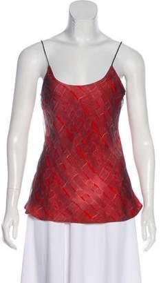 Giorgio Armani Printed Sleeveless Top