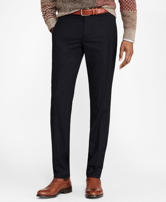 Brooks Brothers Soho Fit Washable Wool Pants