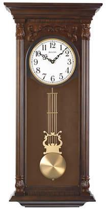 Bulova Norwood II Pendulum Hardwood Clock
