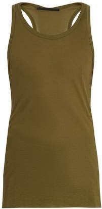 Haider Ackermann Ribbed-knit jersey tank top