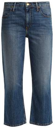The Great The Relaxed Nerd Mid Rise Kick Flare Jeans - Womens - Mid Blue