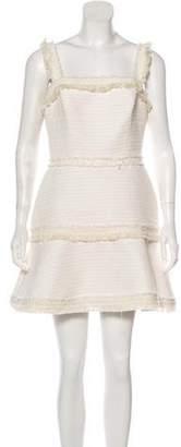 Alexis Tweed Sleeveless Mini Dress
