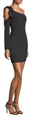 Black Halo Eleece Mini Dress