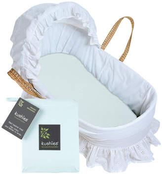 Kushies Baby Bassinet / Carriage Pad Sheet