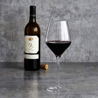 Sur La Table Crystal Handmade Red Wine Glasses, Set of 6