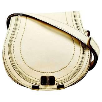 aff1caa8685675 Chloé Marcie Ecru Leather Handbag