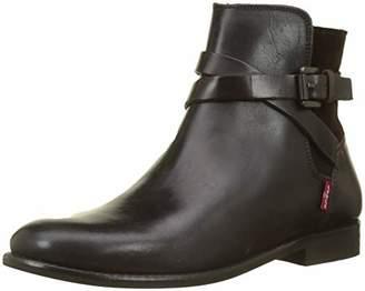 Levi's Women's Tenex Slouch Boots, (Dark Brown 29)