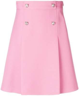 Gucci tiger embellished skirt
