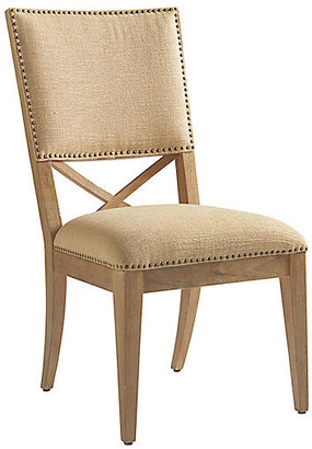 Tommy Bahama Alderman Side Chair - Taupe