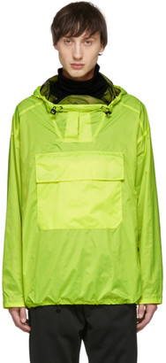 Yves Salomon Yellow Blouson Jacket