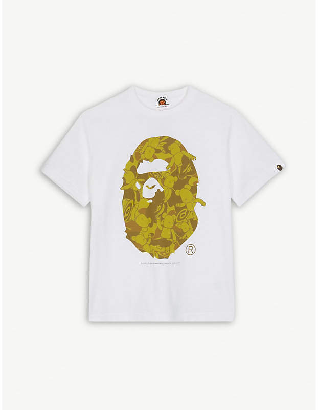 Be@rbrick print cotton T-shirt 4-8 years