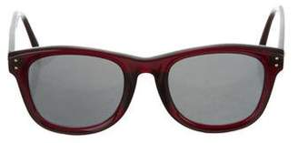 Linda Farrow Luxe Tinted Square Sunglasses