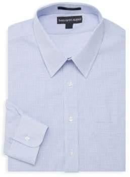 Saks Fifth Avenue Mini Check Dress Shirt