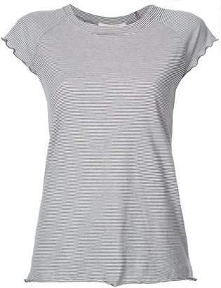 Nili Lotan Striped Baseball T-shirt