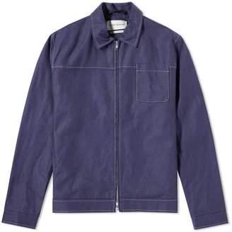 Oliver Spencer Buck Zip Shirt Jacket