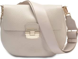 Furla Club S Crossbody Bag in Vanilla Nirvana Leather