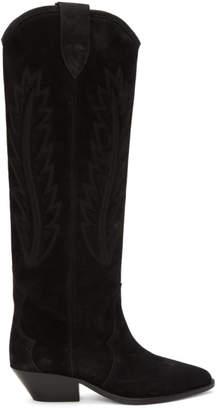 Isabel Marant Black Denzy Boots