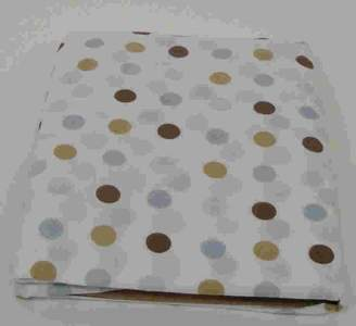 Pem America Beansprout Mod Star Crib Sheet, Blue (Discontinued by Manufacturer) by Bean Sprout