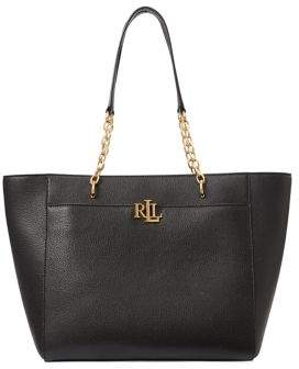 Lauren Ralph Lauren Medium Leather Tote