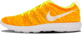 Nike Womens Flyknit Trainer Volt/White